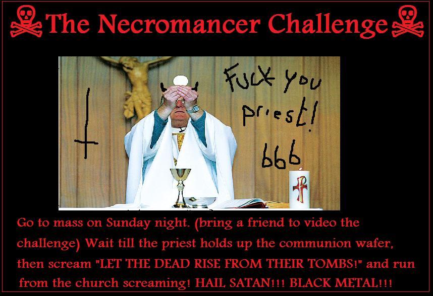 necromancer challenge