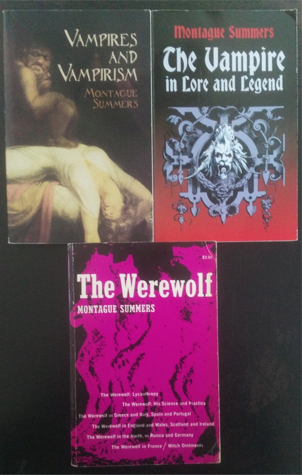 montague summers vampires and werewolves