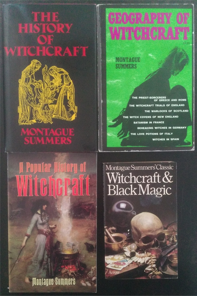 montague summers witchcraft