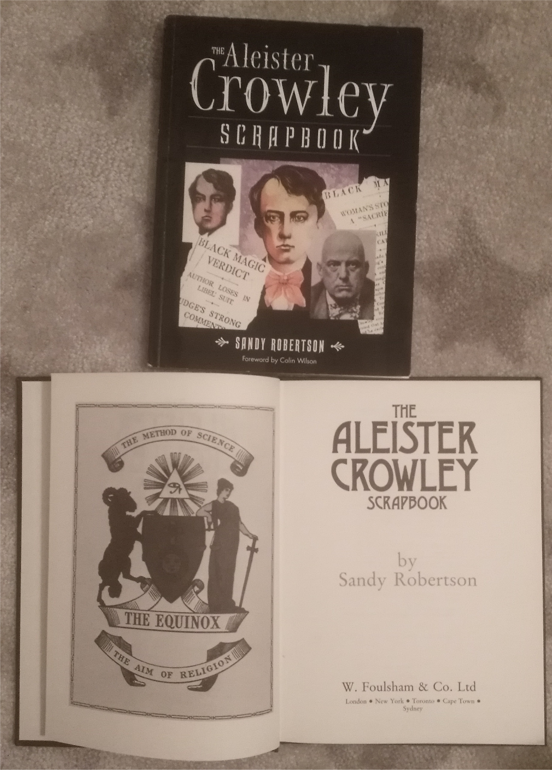 aleister crowley scrapbooks