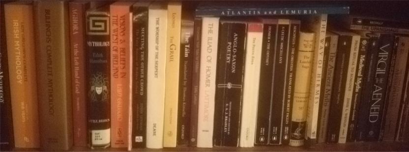 mythology book collection
