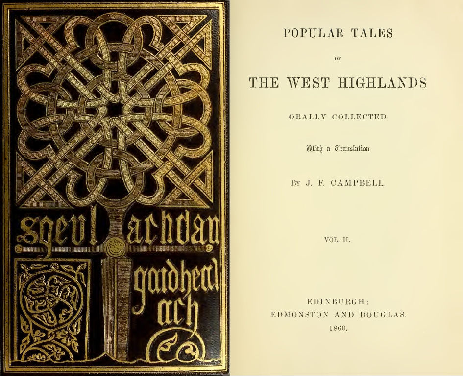 popular tales west highlands J.F