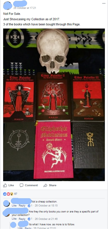 poser occultist books