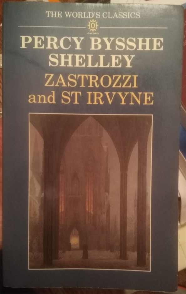 zastrozzi and st irvyne shelley