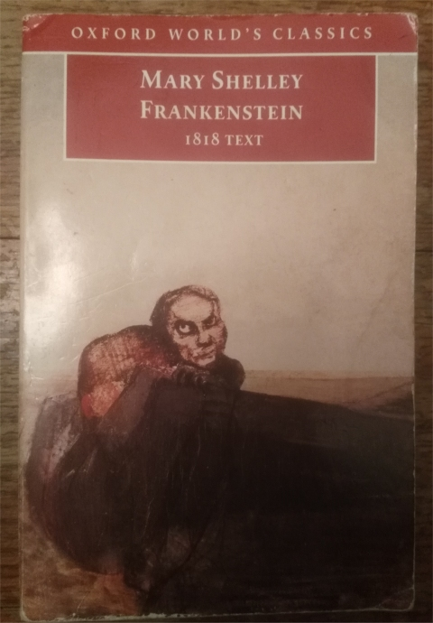 shelley frankenstein 1818