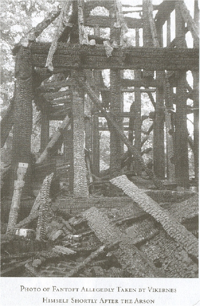 fantoft church burned varg