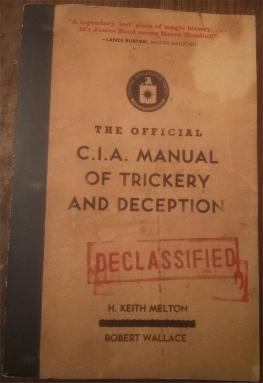 cia manual trickery and deception