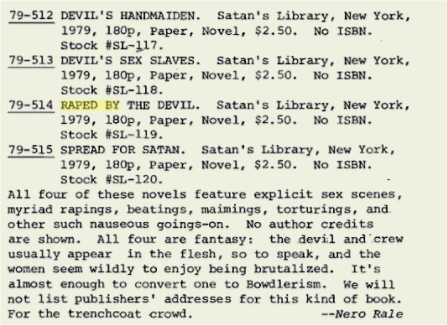 raped by the devil review