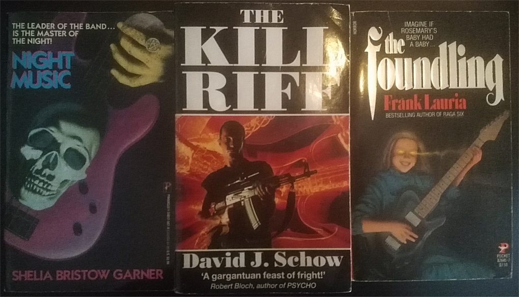 horror rock novels