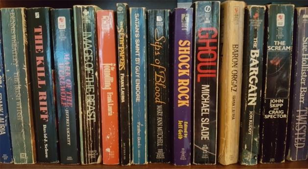 horror paperbacks