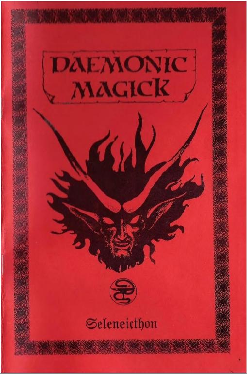 daemonic magick seleneicthon