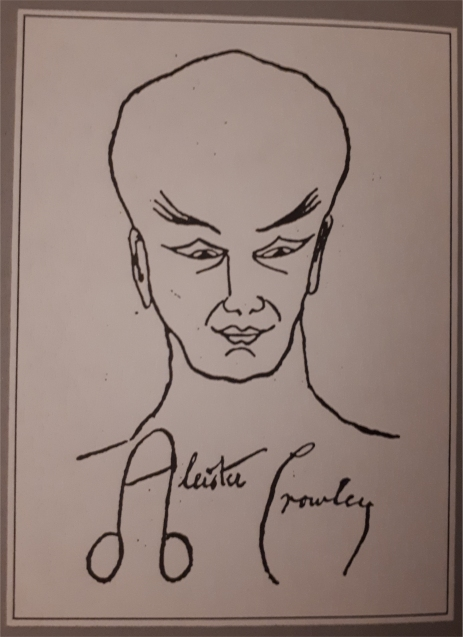 aleister crowley signature