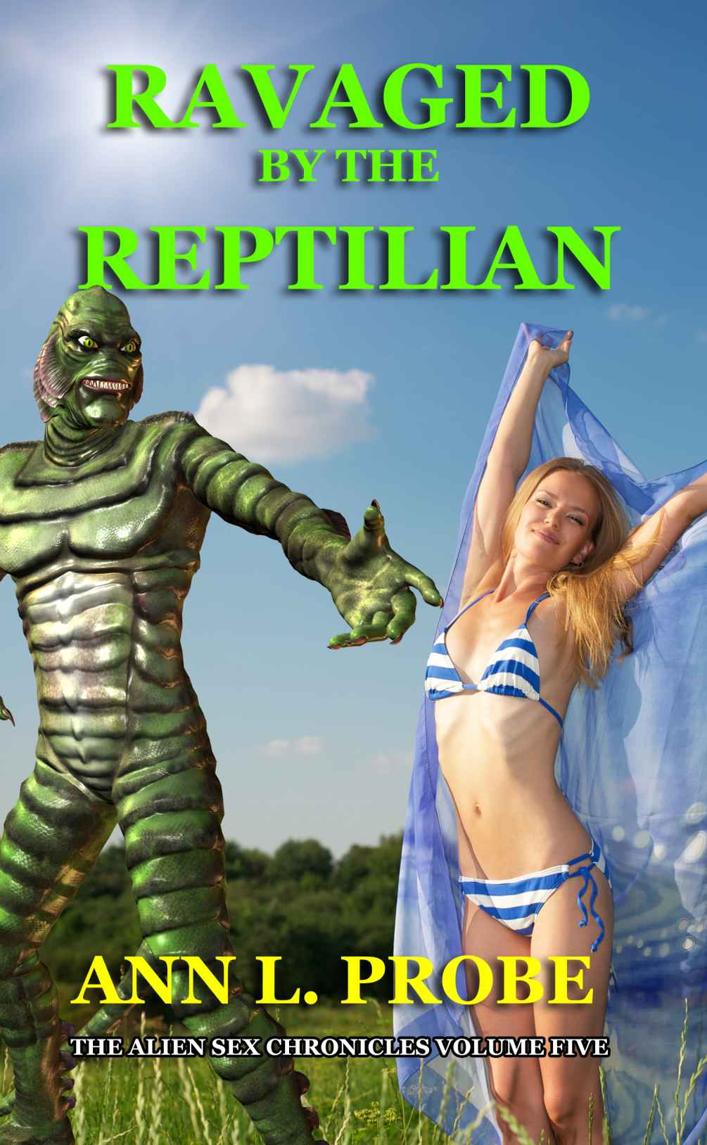 ravaged by the reptilian ann l. probe