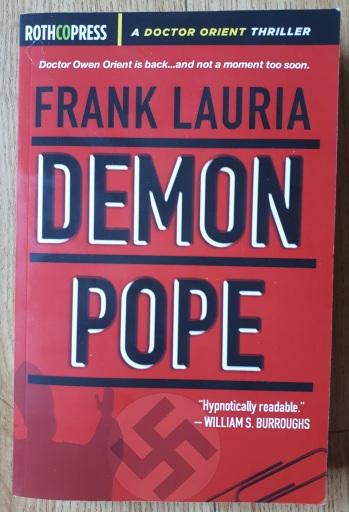 frank lauria demon pope