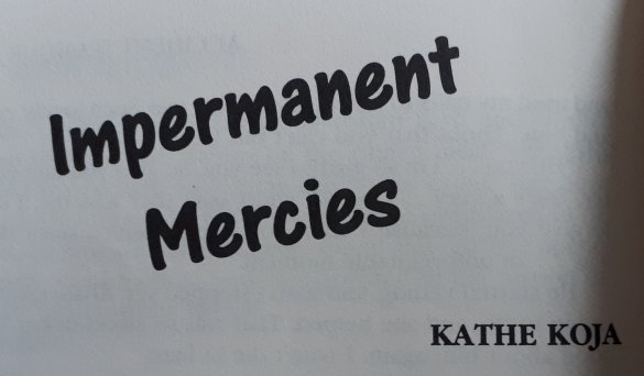 impermanent mercies kathe koja