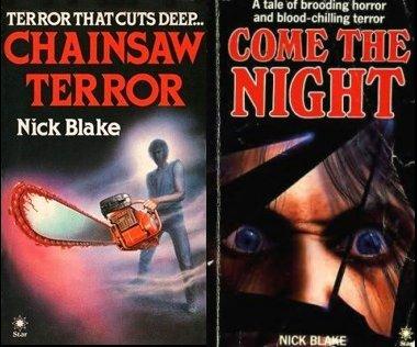 chainsaw terror come the night nick blake hutson