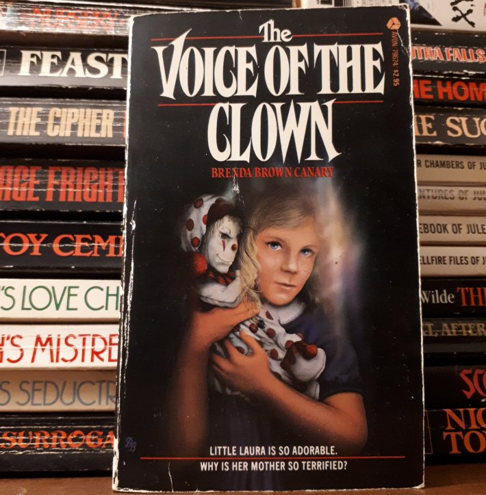 the voice of the clown - brenda brown canary