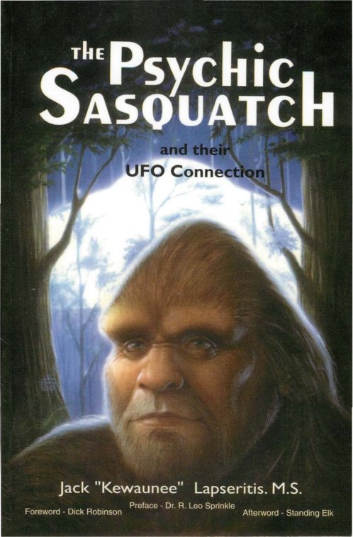 the psychic sasquatch and their ufo connection - kewaunee lapseritis
